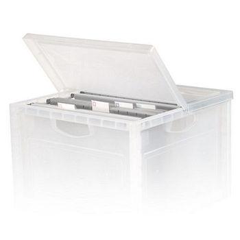 ★2件超值組★樹德SHUTER巧拼收納箱用防塵蓋(38.8*38.8*2cm)