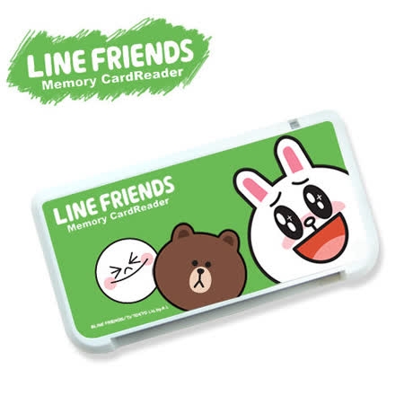 LINE 卡通明星 多功能Combo ATM讀卡機 (LN-R01)