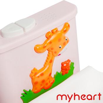 【myheart】台灣製造 專利音樂兒童馬桶-公主粉