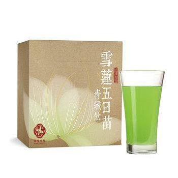 健康會社 雪蓮五日苗青纖飲 1盒 ( 15g/包,30包/盒 )