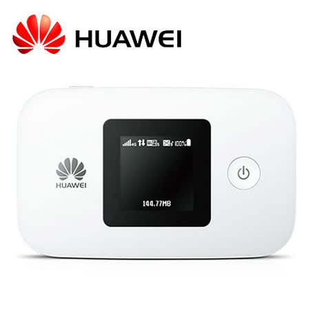 【Huawei 華為】 E5377 4G/LTE 口袋型無線隨身分享器 (白)