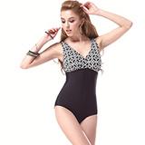 【SARBIS】MIT大女連身三角泳裝附泳帽B91308