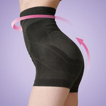 【Bast芭絲媞】塑身一分褲_黑色