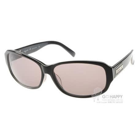agnes b.太陽眼鏡 簡約風格基本款(黑) #AB2810 BH
