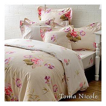 Tonia Nicole東妮寢飾 芙夏花戀精梳棉兩用被床包組 雙人