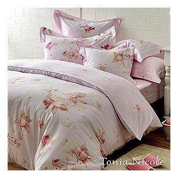 Tonia Nicole東妮寢飾 紫語情迷精梳棉兩用被床包組 雙人