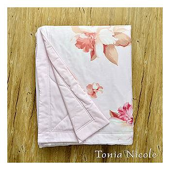 Tonia Nicole東妮寢飾 紫語情迷精梳棉涼被 150x195cm