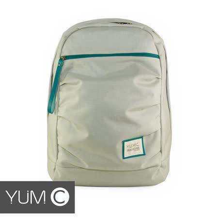 美國Y.U.M.C. Haight城市系列Day Backpack經典筆電後背包 銀灰色