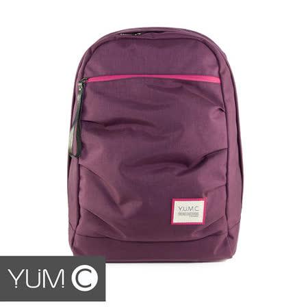 美國Y.U.M.C. Haight城市系列Day Backpack經典筆電後背包 貴族紫