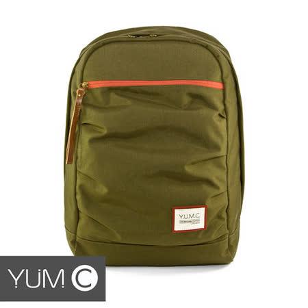 美國Y.U.M.C. Haight城市系列Day Backpack經典筆電後背包 橄欖綠