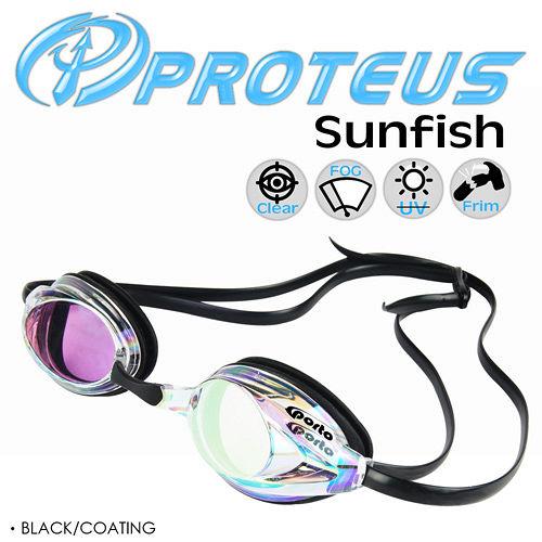 PROTEUS Sunfishsogo 高雄 專業運動泳鏡(Black Coating)