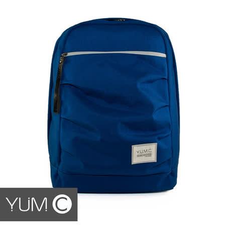 美國Y.U.M.C. Haight城市系列Day Backpack經典筆電後背包 海水藍