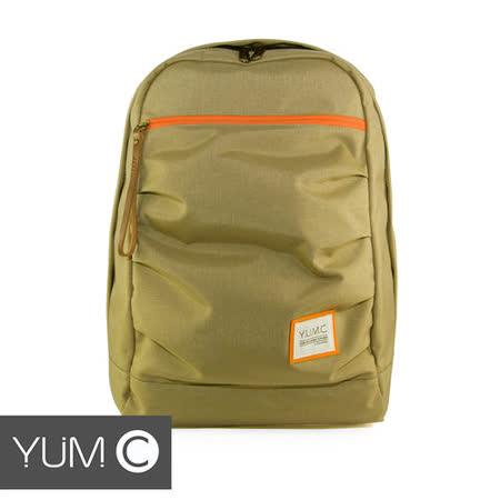 美國Y.U.M.C. Haight城市系列Day Backpack經典筆電後背包 亮卡其