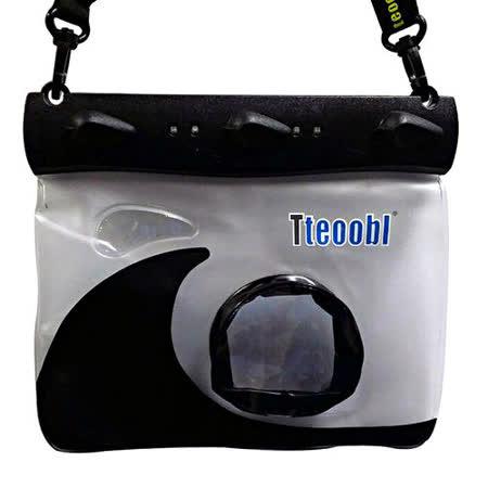 正品 Tteoobl T-508M 耐壓20米 類單眼相機通用防水袋(黑)