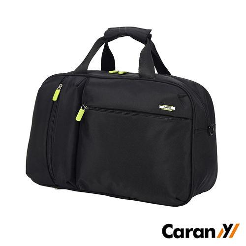 CARANY 卡拉羊 23L 拉桿套環 時尚休閒大容量輕愛 買 停車量旅行袋 行李袋 (黑色) 58-0010