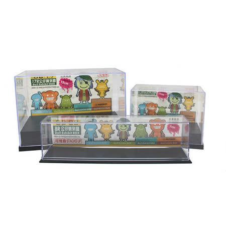 [百貨通]公仔收納盒(3組入) 展示盒 陳列盒 模型盒 7-11公仔盒