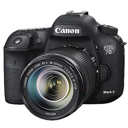 Canon EOS 7D Mark II +18-135mm STM  (中文平輸)-送減壓背帶+拭鏡筆+清潔組+高透光保護貼