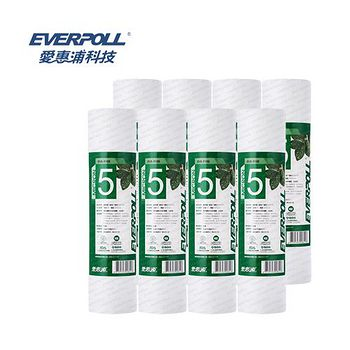 EVERPOLL 愛惠浦科技 一般標準型5微米PP濾心 EVB-F105 (8支組)