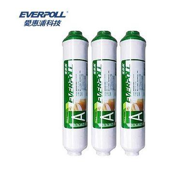 EVERPOLL 愛惠浦科技 後置活性碳濾心  EVB-T033A (3支入)