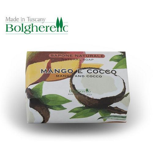 【Bolgherello 柏莉歐】天然精油手工香氛皂~芒香椰果 100g