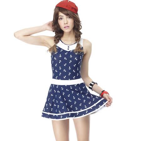 【SARBIS】MIT大女連身裙泳裝附泳帽B98415