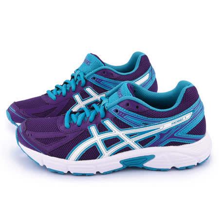 Asics 女款 PATRIOT 7 輕量慢跑鞋T4D6N-3301-紫