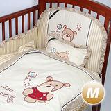 Yip Baby KUMA 3M嬰兒床八件組M (120X60cm)