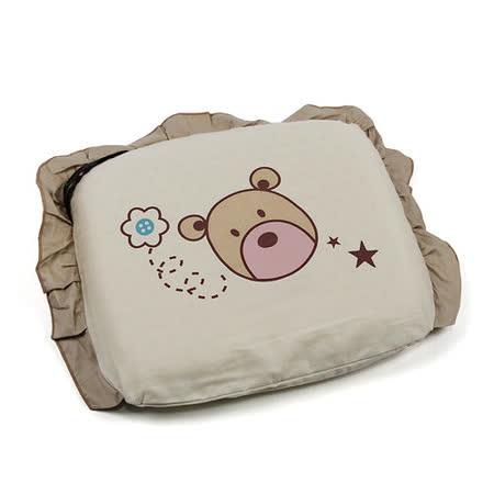 Yip Baby KUMA 3M嬰幼兒乳膠塑型枕(雙布套)