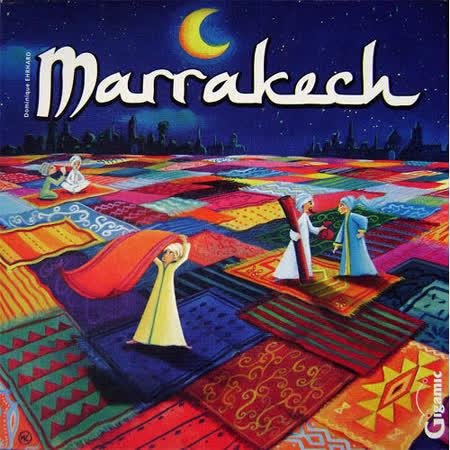 【 法國桌神 Gigamic 益智遊戲 】Marrakech 搶地盤 馬拉喀什地毯大亨