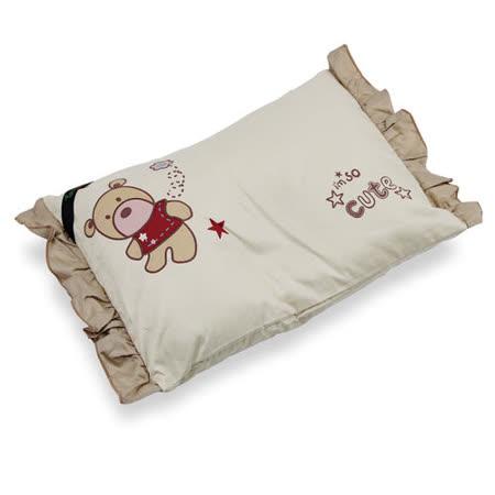 Yip Baby KUMA 3M嬰幼兒四季棉枕 (2入組)