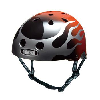 【hilltop山頂鳥】NUTCASE彩繪安全帽T41X02-2022/MOTO FLAMES