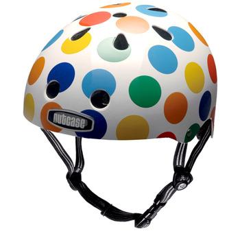 【hilltop山頂鳥】NUTCASE彩繪安全帽T41X02-2013/DOTS