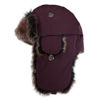 【hilltop山頂鳥】極地保暖遮耳帽H41XL8-酒紅