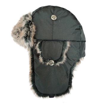 【hilltop山頂鳥】極地保暖遮耳帽H41XL8-灰