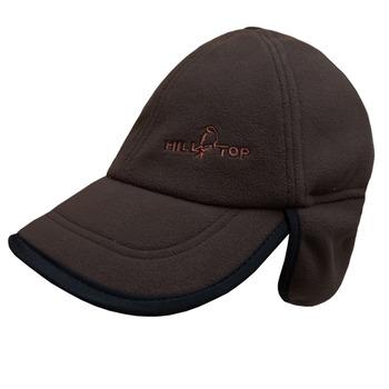 【hilltop山頂鳥】WINDBLOC防風棒球遮耳帽H41XF6-咖啡