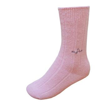 【hilltop山頂鳥】美麗諾保暖羊毛襪H47XD0-粉紅