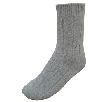 【hilltop山頂鳥】美麗諾保暖羊毛襪H47XD0-灰