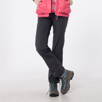 【hilltop山頂鳥】女款GoreTex防水保暖長褲H31FI1-深灰