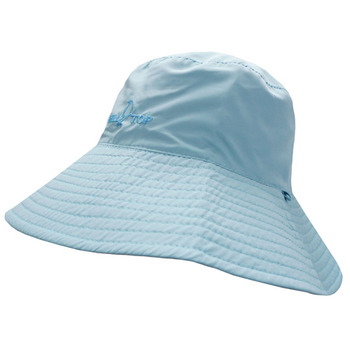 【hilltop山頂鳥】抗UV雙面漁夫帽S01X24-淺藍/粉紅