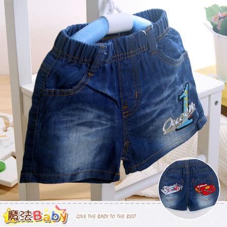魔法Baby~兒童牛仔短褲 k40531