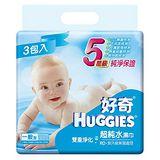 HUGGIES好奇 超純水濕巾 100抽x18包/箱