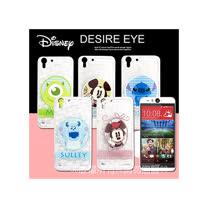 迪士尼授權正版 HTC Desire EYE / M910X徽章系列透明彩繪軟式保護殼 手機殼