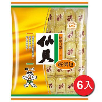 旺旺仙貝米果經濟包350g*6