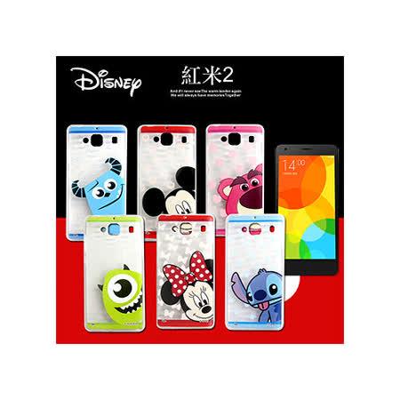迪士尼授權正版 紅米機2/ 紅米2 大頭娃透明彩繪軟式保護殼 手機殼