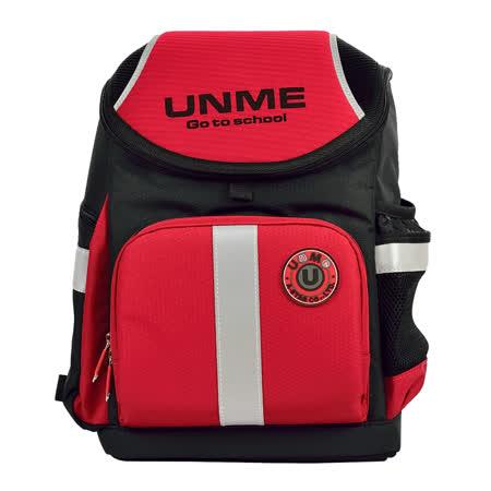 【UnMe】酷勁賽車款護脊書包(紅色)