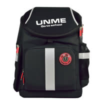 【UnMe】酷勁賽車款護脊書包(黑色)