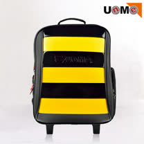 【UnMe】小蜜蜂系列鏡面書包(黃色)