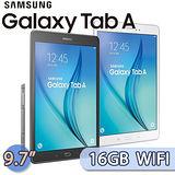 Samsung GALAXY Tab A 9.7 16GB WIFI版 (P550) 9.7吋 S Pen四核心平板電腦【送平板立架+多功能讀卡機+萬用清潔組】