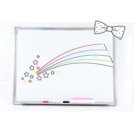 [百貨通]小白板30x45 送板擦+白板筆白板磁性白板