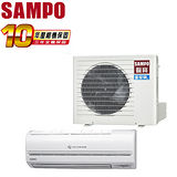 [促銷]SAMPO聲寶 3-5坪變頻單冷一對一分離式冷氣(AM-QA22D/AU-QA22D)送安裝